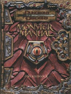 Monster Manual owned it but never used it because 3.5 came out before I started a new game.