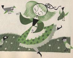 Mary Blair - dancing girl
