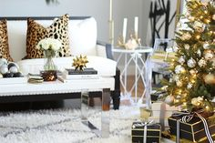 Blogger Stylin' Home Tours Christmas 2015 - BLISS AT HOME