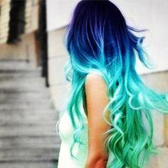 Blues hair