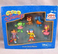 Jojos-Circus-Playset-Walt-Disney-Store-Exclusive-Set-6-Figures-Playhouse