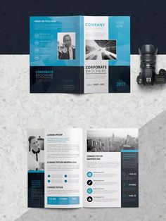 BiFold Brochure Template Psd Vector Eps Ai Illustrator