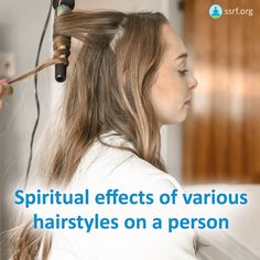 A person's hairstyle is quite often regarded as one of the more important aspects of his or her appearance. People invest a lot of time in hair care and the way they style their hair for the day. At the Spiritual Science Research Foundation, through spiritual research we have found that the way we care for our hair and our hairstyle affects us at a spiritual level.  Dear Readers, would you like to share how you felt reading these articles?  #hair #haircare #spiritual