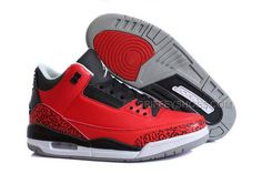 http://www.griffeyshoes.com/nike-air-jordan-3-retro-elephant-print-red-black-grey-basketball.html NIKE AIR JORDAN 3 RETRO ELEPHANT PRINT RED BLACK GREY BASKETBALL Only $74.00 , Free Shipping!