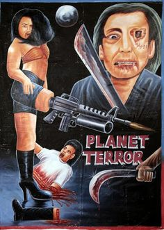 35 more awesome hand drawn movie posters from Ghana | Warped Factor - Daily features and news from the world of geek