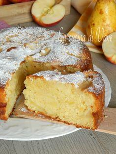 torta di mele e pere con mascarpone..