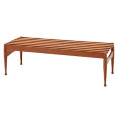 Wood Bench by Reguitti, Italy, Mid-20th Century