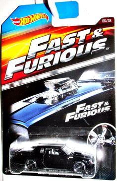 1987 Buick Grand National Hot Wheels FAST & FURIOUS Movie Car #6/8 Black #HotWheels #Buick