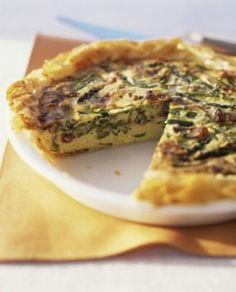Italian Breakfast Tart Vegan Recipe from healthyvoyager.com