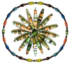 Make Beautiful Beads Using Clip Art: How to Make Rolled Paper Beads
