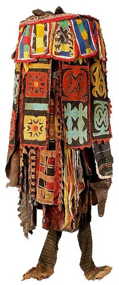 Yoruba Egungun Costume 114 (thought it was Nick Cave at first glance)