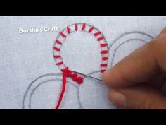 This video about:Hand Embroidery, Raised chain Stitch, Fantasy Flower Embroidery Welcome to Borsha's Craft Channel! Hand Embroidery Videos, Hand Embroidery Tutorial, Embroidery Flowers Pattern, Types Of Embroidery, Learn Embroidery, Hand Embroidery Stitches, Embroidery For Beginners, Hand Embroidery Designs, Embroidery Techniques