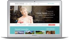 Barbara Corcoran partnered with Real Estate Webmasters to create a phenomenal real estate website that shows off her dazzling personality & can share yours too!