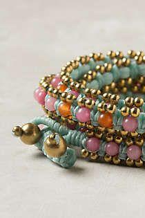 Anthropologie - Lila-Stone Bracelet