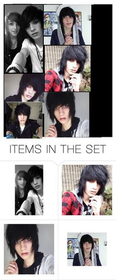 """Happy birthday Johnnie Guilbert!"" by bandgirl1213 ❤ liked on Polyvore featuring art"