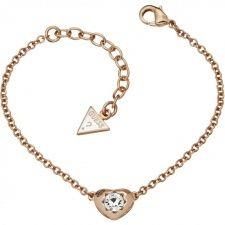 Guess Crystals Of Love Bracelet UBB51415 Love Bracelets, Bangle Bracelets, Bangles, Fiorelli, Gold Necklace, Pendant Necklace, Jewels, Crystals, Diamond