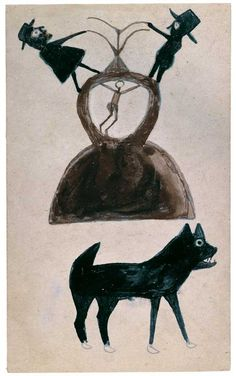 Bill Traylor: Drawings from the Collection of the High Museum of Art and the Montgomery Museum of Fine Arts | American Folk Art Museum