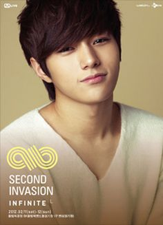 I love this picture of Myungsoo sosososo much. Hes actually smiling. Come visit kpopcity.net for the largest discount fashion store in the world!!