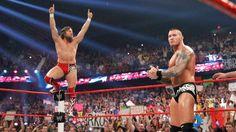 WWE.com: Randy Orton & Daniel Bryan vs. Roman Reigns & Seth Rollins - #WWE Tag Team Championship Match: photos