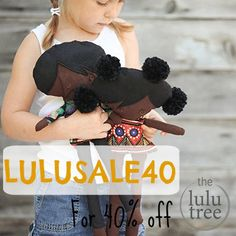40% off everything at the lulu tree last chance sale and giveaway...enter to win an infinity scarf and nativity cards by Emily Weirenga!