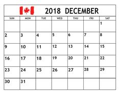 48 Best December 2018 Monthly Calendar Images On Pinterest