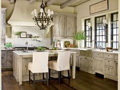 Rustic beach kitchen