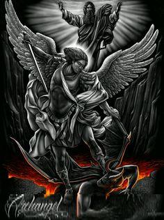 St michael tattoo Más