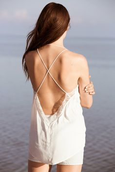 Silence + Noise Lace-Inset Strappy Cami - Urban Outfitters