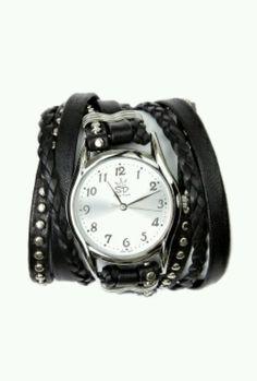 Reloj Negro de Pulsera