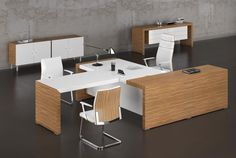 Kyu Collection – Executive Furniture by Rum – Executive Home Office Design Office Table Design, Corporate Office Design, Modern Office Design, Office Furniture Design, Office Interior Design, Home Office Decor, Office Interiors, Home Decor, Executive Office Furniture