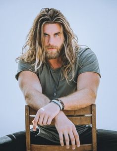 long mane length hairstyle for men