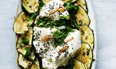 5 Nigel Slater recipes for early summer Roasted Zucchini and Herb Labneh