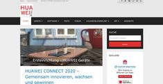 HUAWEI.blog ganz neu Software, Apps, Blog, Light Of The World, Getting To Know, Blogging, App