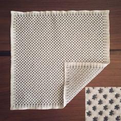#handmade #sashiko #embroidery #stitching