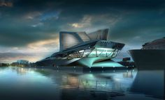 Keelung Harbor Terminal | Synthesis Design + Architecture (SDA)