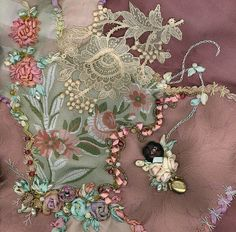 Vic's finished block by BarbaraB, via Flickr. Exquisite work!