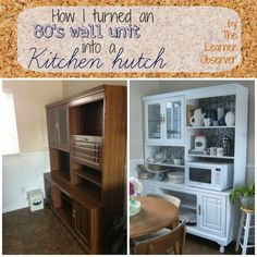 From Wall Unit to Kitchen Hutch - The Learner Observer