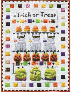 happy halloween quilt kit