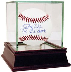 Bobby Cox Signed MLB Baseball w/ '95 WS Champs' insc (MLB Auth)