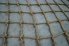 Cargo netting can be purchased through hardware stores or online.