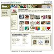 Cross Stitch Patterns at by Category and Designer at EverythingCrossStitch.com