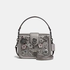 COACH Official Site Official page|PAGE CROSSBODY WITH TEA ROSE TOOLING