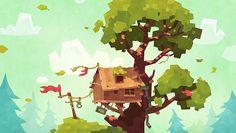 Slava Volkov - Forest on Behance - shared by #ArtStream