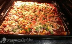 Érdekel a receptje? Kattints a képre! Pizza, Fried Rice, Macaroni And Cheese, Fries, Ethnic Recipes, Food, Mac And Cheese, Essen, Meals