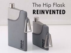 HIPP Titanium: The hip flask reborn in Titanium by HIPP Titanium — Kickstarter