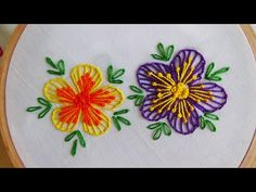Hand Embroidery |  Button Hole Stitch: Buttonhole stitches catch a loop of the thread on the surface of the fabric and needle is returned to the back of the fabric at a right angle to the original start of the thread. buttonhole stitches are used to make
