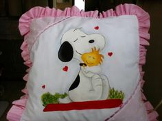 Cojin co snoopy.