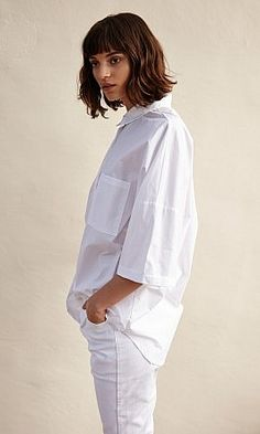 Boyfriend shirt - Plümo Ltd