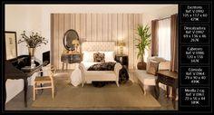 Dormitorio contemporáneo que puedes adquirir en nuestra tienda de Madrid o a través de nuestra web http://www.originalhouse.info/