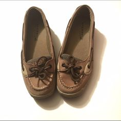 Sperry Top Sider Only worn once! They've just been sitting in my closet. Excellent condition! Size: 4.5M Sperry Top-Sider Shoes